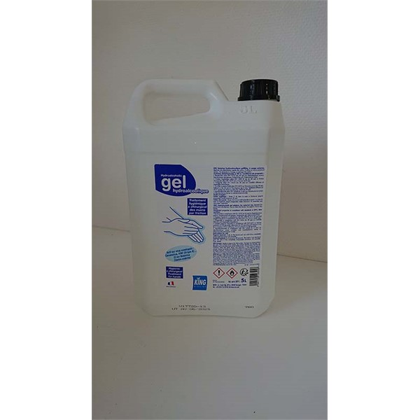 Photo de Gel Hydroalcoolique 5L
